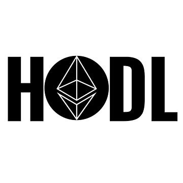 hodl ethereum black by mikeblue7