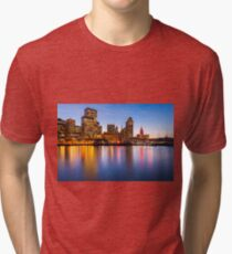 San Francisco Skyline Tri-blend T-Shirt