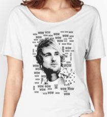 """""""Wow.""""- Owen Wilson Women's Relaxed Fit T-Shirt"""