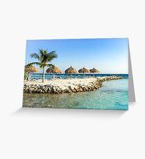 Private Island Greeting Card