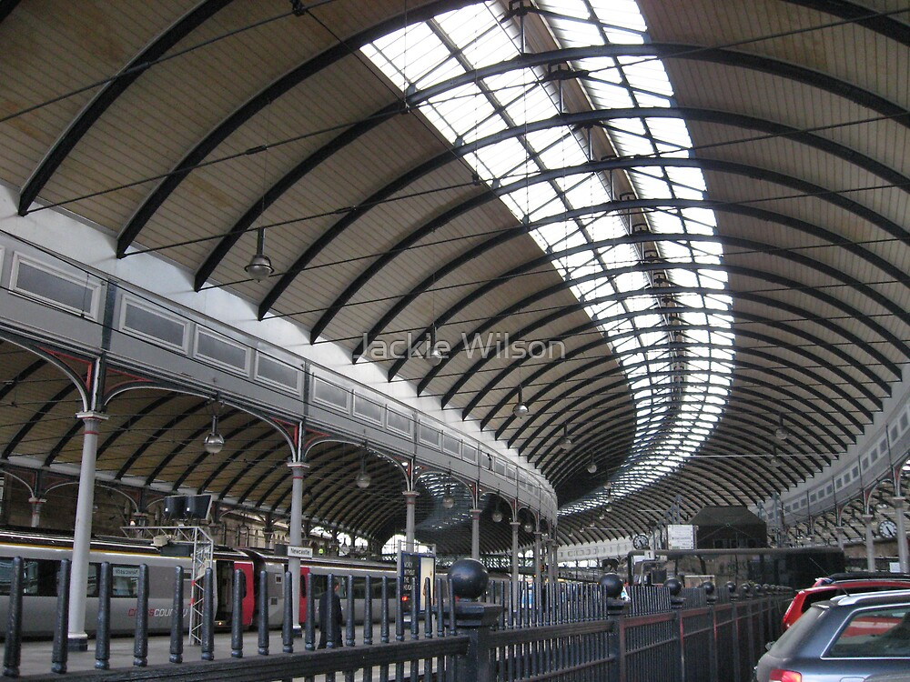 Central Station Newcastle by Jackie Wilson