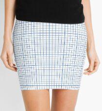 Graph Paper Mini Skirt