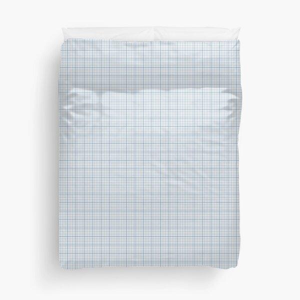 Graph Paper Duvet Cover