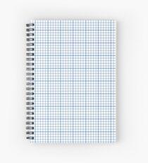 Graph Paper Spiral Notebook