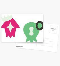 Postales Logotipos de Pearl y Marina