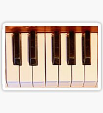 Piano Octave Sticker