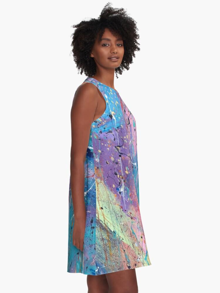 Alternate view of Aqua Dreams A-Line Dress