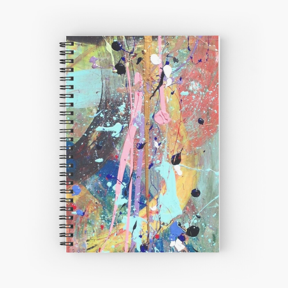 One tree river Spiral Notebook