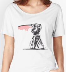 Kendo Ninja Painting Women's Relaxed Fit T-Shirt