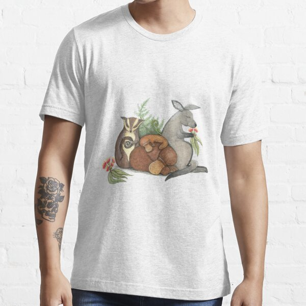 Native Australian Babies – With Kangaroo, Sugar Glider And Platypus Essential T-Shirt