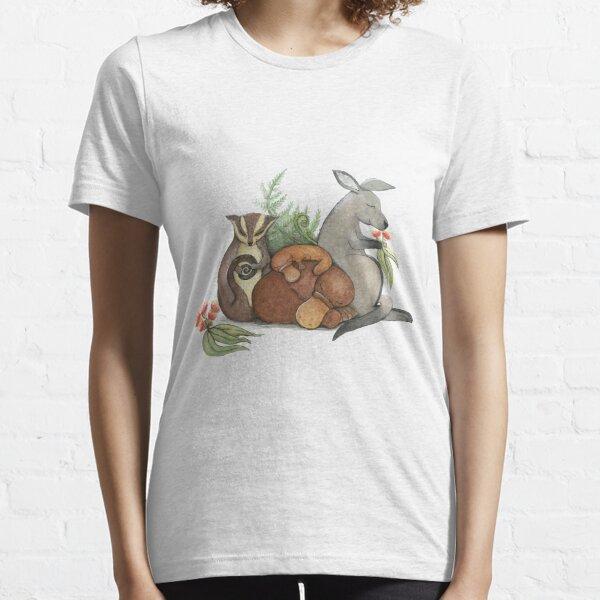 Native Australian Babies – With Kangaroo, Sugar Glider And Platypus Essential T-Shirt
