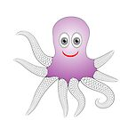 Cheerful Octopus by valeo5