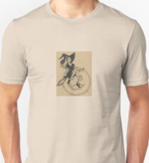 Witch and Broom Flying by the Moon T-Shirt