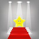 Yellow Star by valeo5