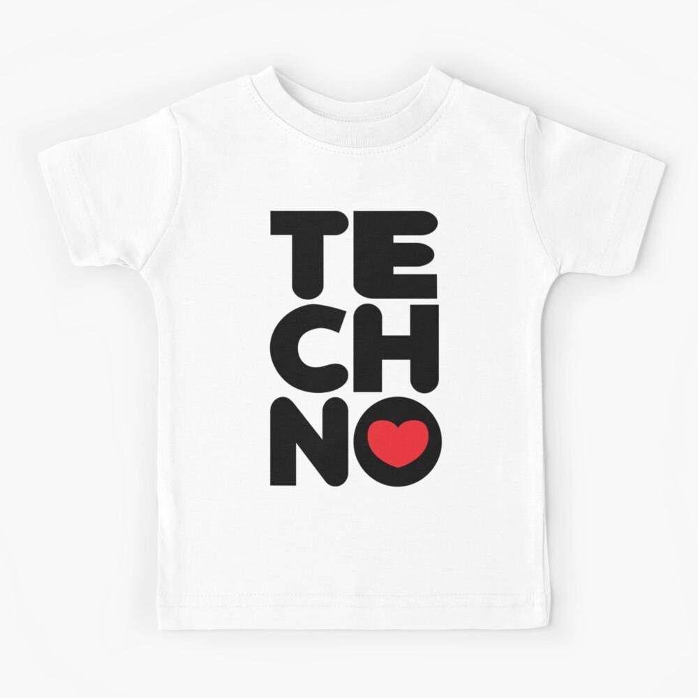 Techno Tower Music Quote Kids T-Shirt