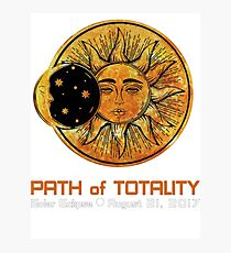 SOLAR ECLIPSE, PATH OF TOTALITY SOLAR ECLIPSE Photographic Print