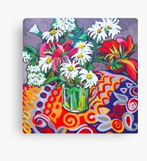 Daisy Still Life Canvas Print