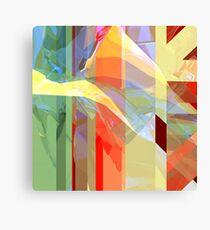 Sunlight Through Curtains (intense) Canvas Print