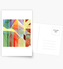 Sunlight Through Curtains (intense) Postcards