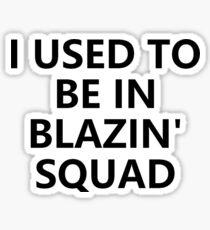 Love Island - Blazin' Squad Sticker
