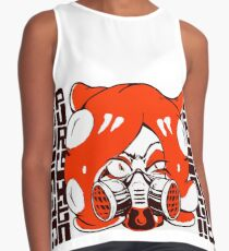 GET THAT SQUID! Radically crazy Octo girl Contrast Tank