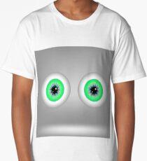 Green Eyes Long T-Shirt