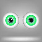 Green Eyes by valeo5
