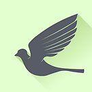 Grey Bird by valeo5