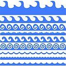 Sea Waves Set by valeo5