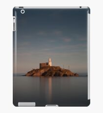 Tranquil evening at Mumbles lighthouse iPad Case/Skin
