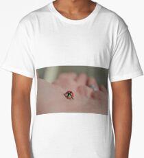 Ladybug on the hand Long T-Shirt
