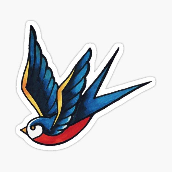 Sailor Bird Pegatina