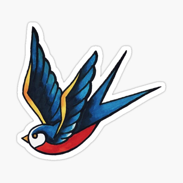 Sailor Bird Sticker