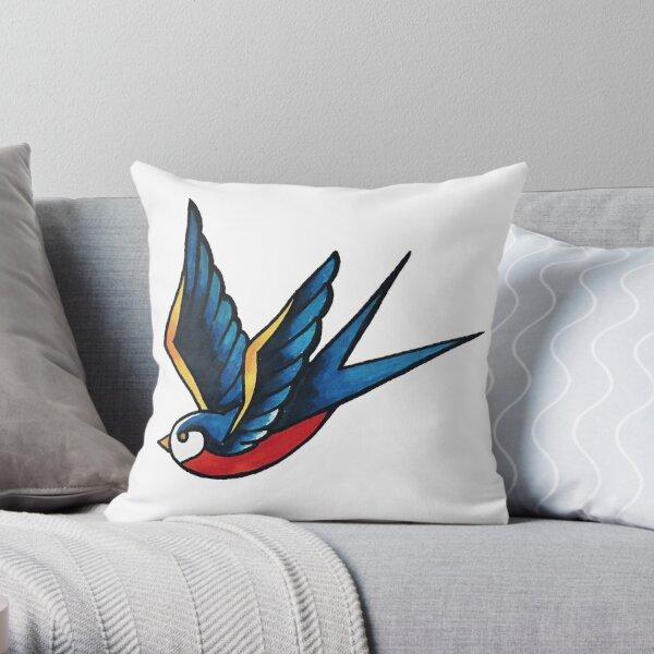 Sailor Bird Throw Pillow