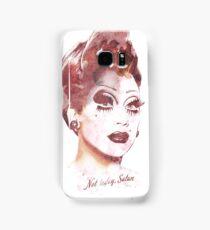 Not today Satan Bianca Del Rio Illustration Samsung Galaxy Case/Skin