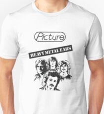 Picture Heavy Metal Ears inverted T-Shirt