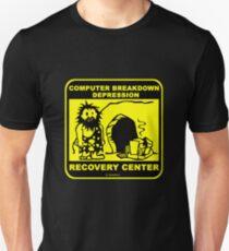 Computer breakdown depression  T-Shirt