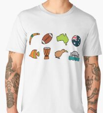 Australian Icons Men's Premium T-Shirt