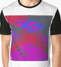 VaporWave Flower Graphic T-Shirt