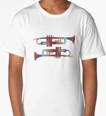 Music Art Water color Long T-Shirt
