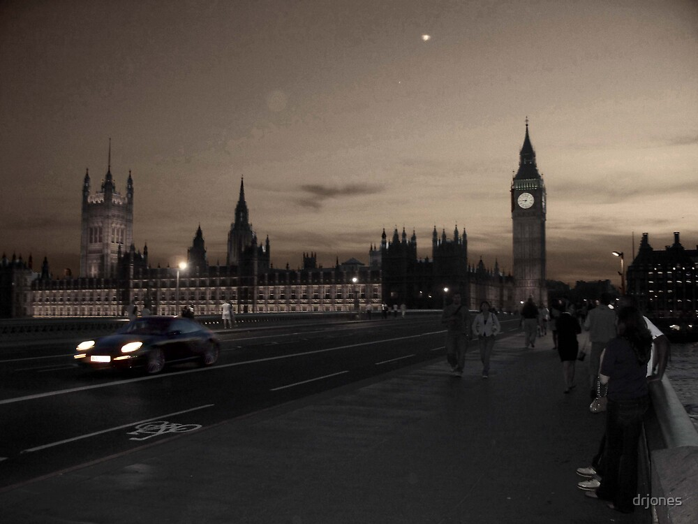 London Dusk by drjones