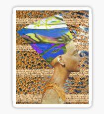 Queen of the psychadelic desert Sticker
