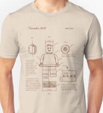 Leonardo Da Vinci Lego Unisex T-Shirt