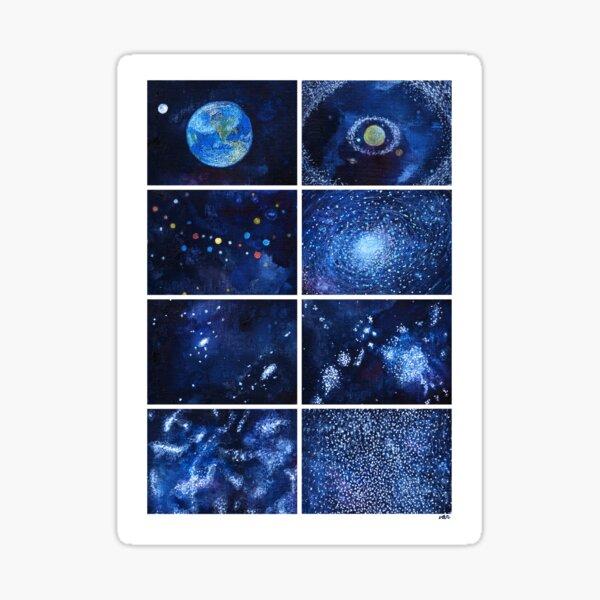 A quick view of the universe Pegatina