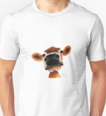 23cded57f JERSEY CoW PRiNT ' JeRSeY JoY ' BY SHiRLeY MacARTHuR Slim ...