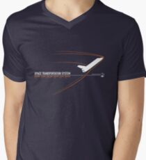 SPACE SHUTTLE Men's V-Neck T-Shirt