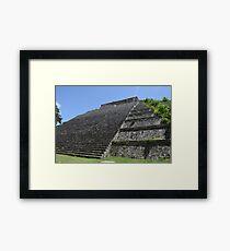 Templo Mayor at Uxmal Framed Print