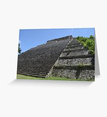 Templo Mayor at Uxmal Greeting Card