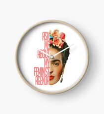 Ask me about my feminist agenda Clock
