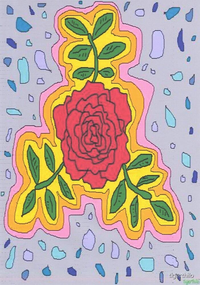 1706 - Mystique Rose In Open Mode von tigerthilo